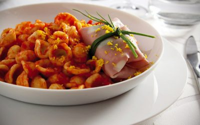 Orecchiette with Mortadella