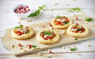 Veroni Salami Mini Pizzas