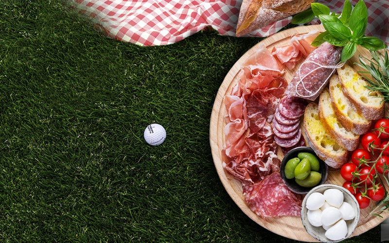 US Golf Open Picnic