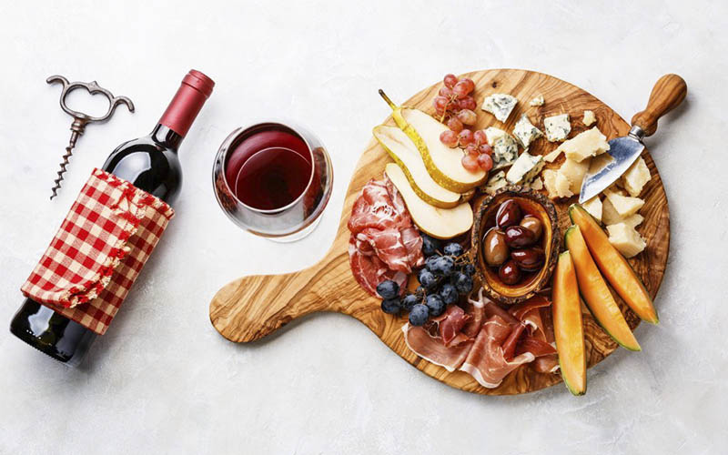 Pairing wine with cold cuts