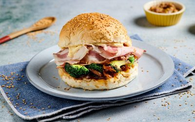 Porchetta Burger