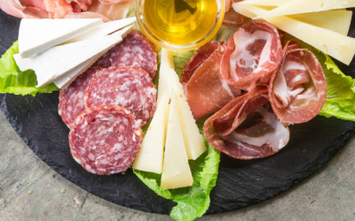 Charcuterie and cheese pairing