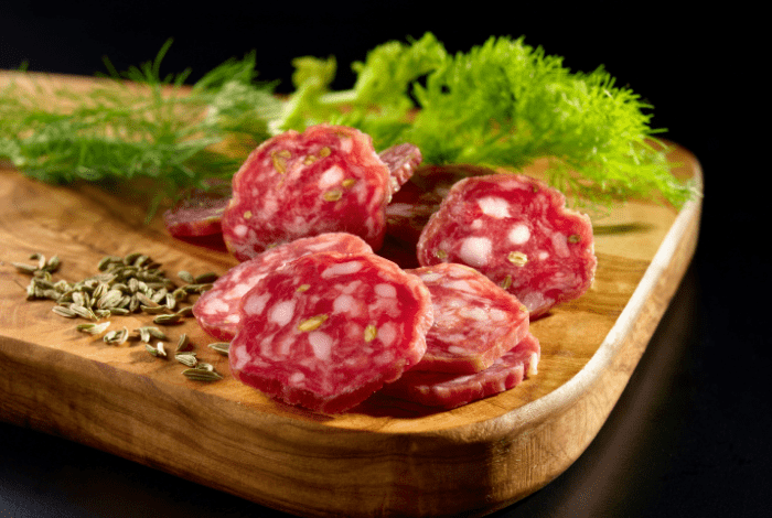 How to taste Tuscan salami