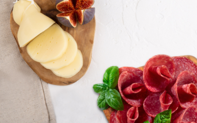 Charcuterie and cheese for a delicious Antipasto