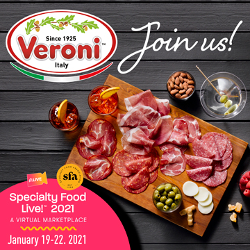 We are at Specialty Food Live! 2021