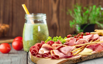 Cold cuts and smoothies